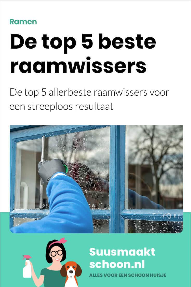 suusmaaktschoon.nl - suus maakt schoon - ramen wassen - ramen wassen zonder strepen - ramen wassen tips - raamwisser