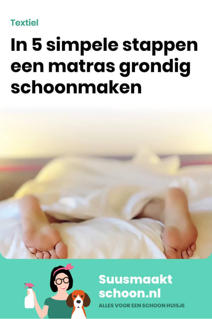 suusmaaktschoon.nl - suus maakt schoon - matras - matras schoonmaken - matras reinigen - matras vlekken - matras reinigen baking soda - matras schoonmaken urine - matras schoonmaken baking soda
