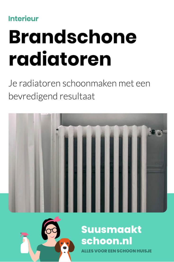 radiatoren schoonmaken - schoonmaken radiator -  schoonmaken verwarming - verwarming schoonmaken