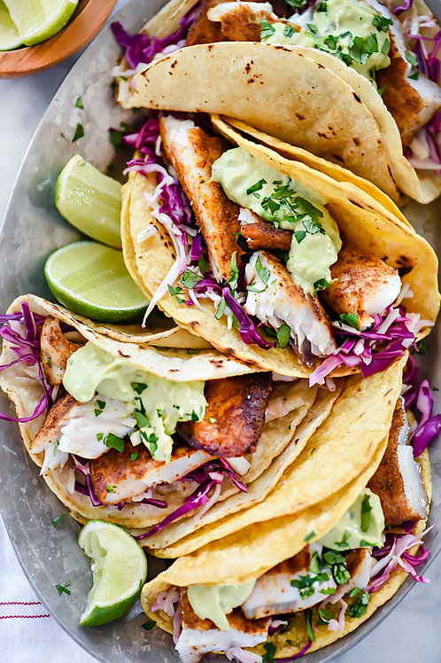 Red Snapper Fish Tacos