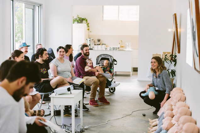 Rhythm First Aid - Infant and Child Clas