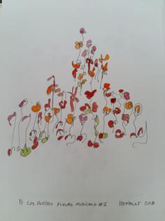 Les petites fleurs musicales #3
