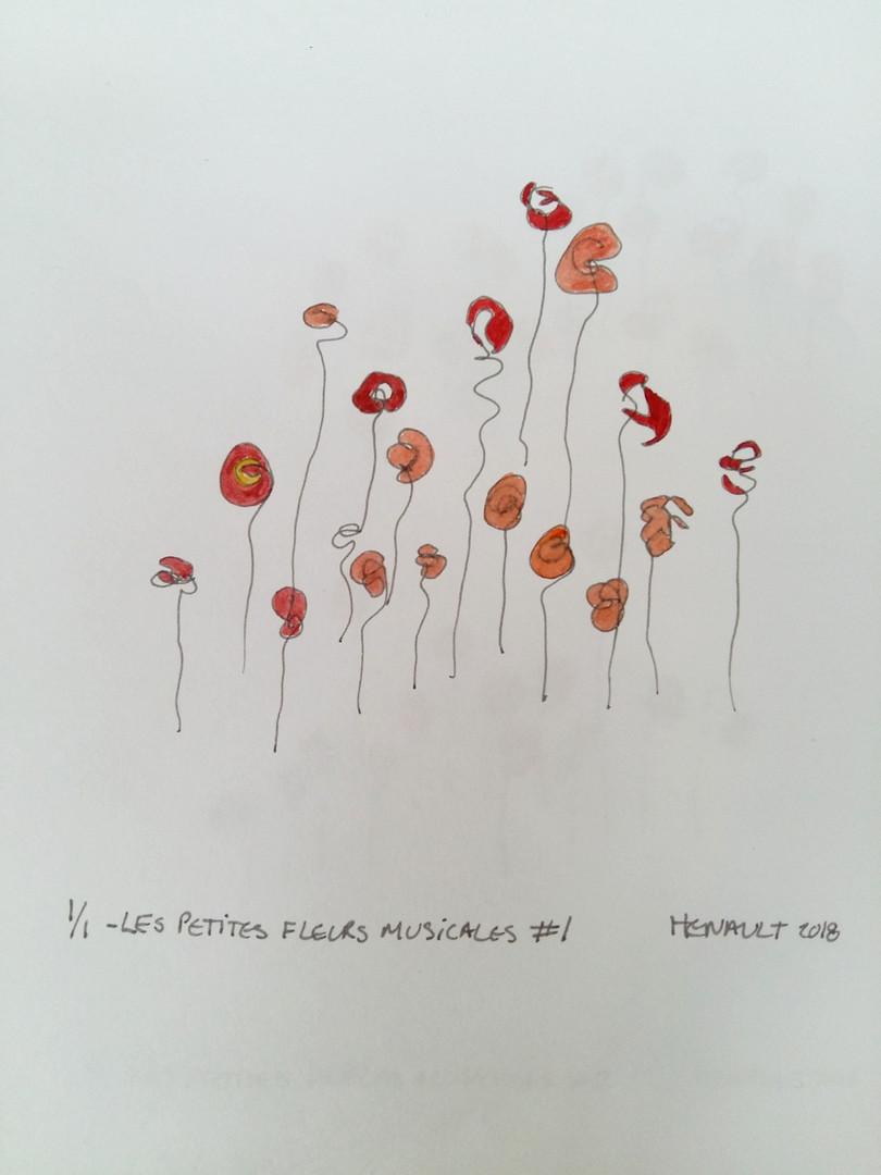 Les petites fleurs musicales #1