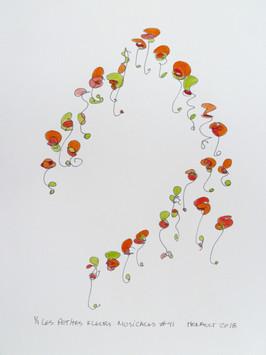 Les petites fleurs musicales #41
