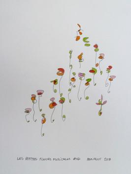 Les petites fleurs musicales #46