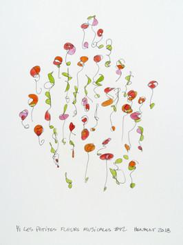 Les petites fleurs musicales #42
