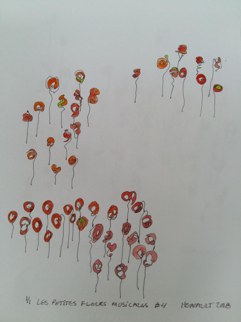 Les petites fleurs musicales #4