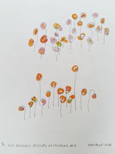 Les petites fleurs musicales #2