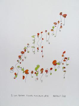 Les petites fleurs musicales #40