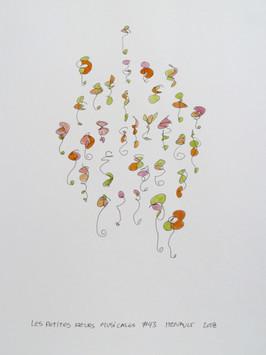 Les petites fleurs musicales #43