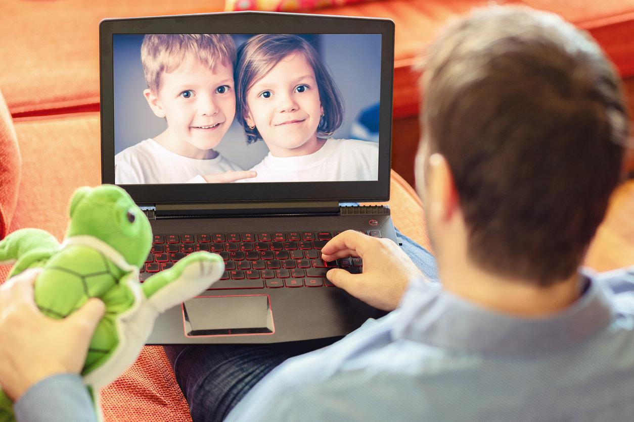 Blended Virtual Parent or Child Visits