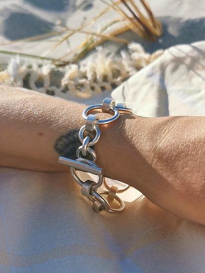 Karen Hoop Bracelet