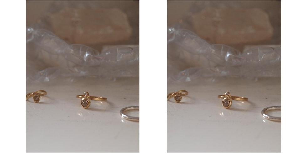 Double diamond ring, mix