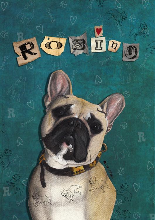 Rosino (Ingrid Bergman´s søn´s hund)