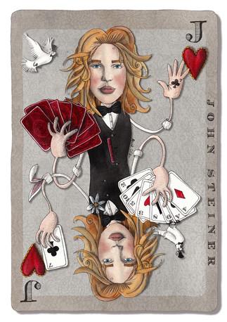Magician John Steiner