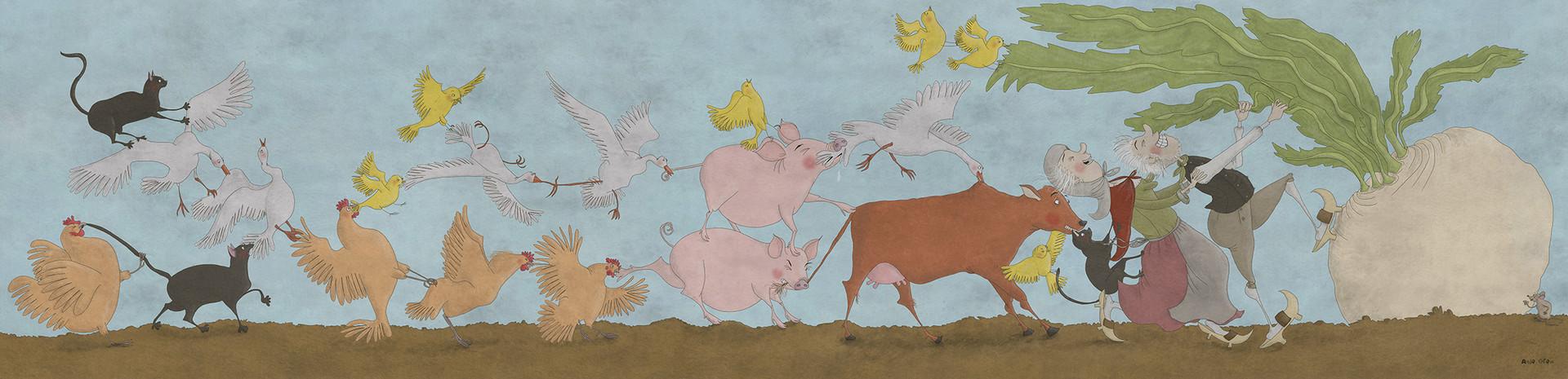 Illustration til Nakskov bibliotek