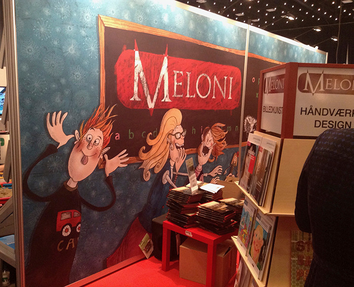 Illustrationer til Forlaget Meloni