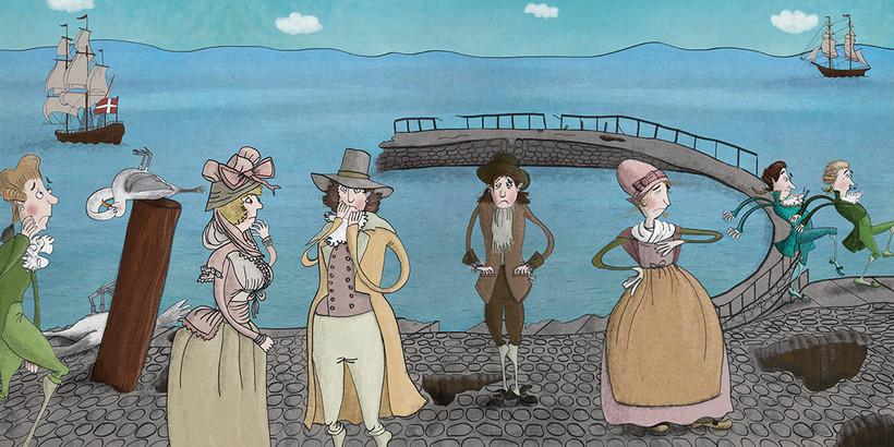 Illustrationer til Museum Østjylland