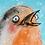 Thumbnail: Bird - Animated Christmas card GIF
