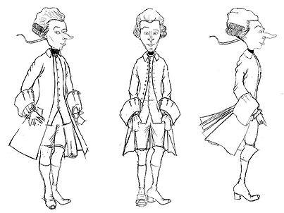 Baron von Münchhausen character design