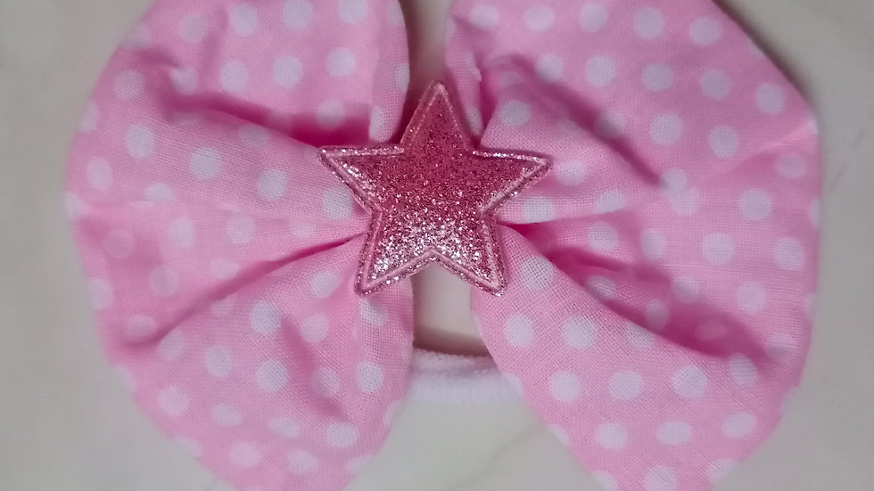 Cotton cloth bow - band
