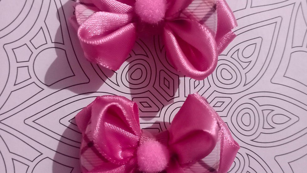 Small twin bow bands