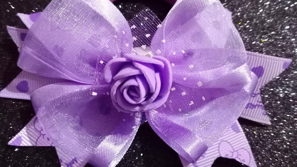 Lavender Ribbon Bow
