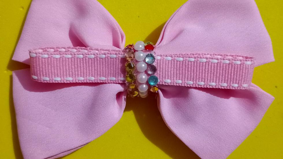 Peach Cloth bow