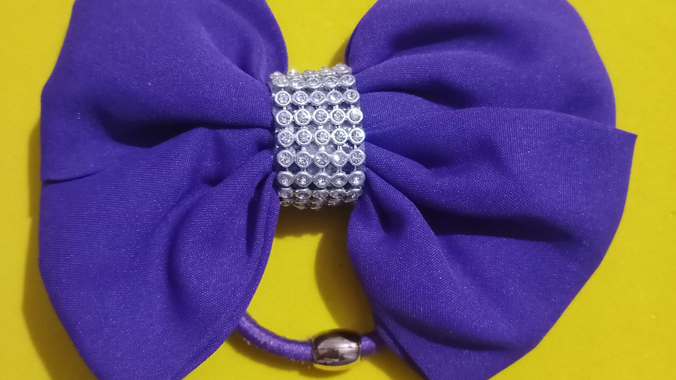 Purple Cloth bow