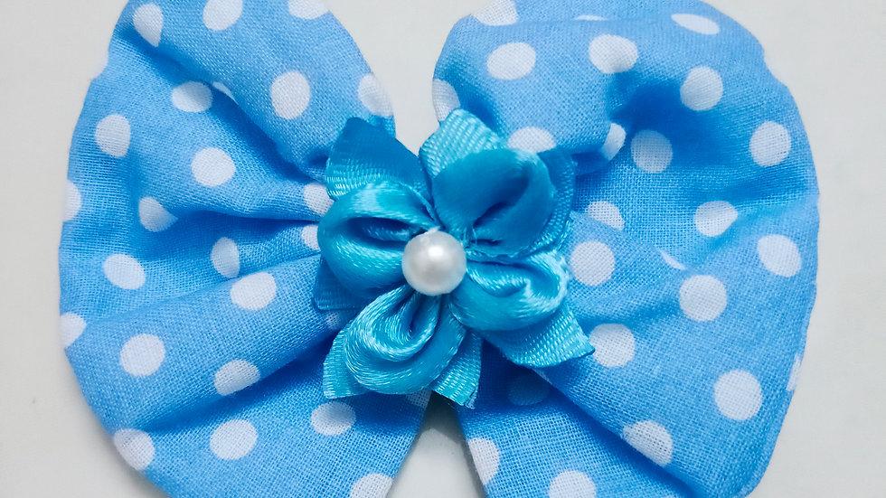 Cotton cloth bow - clip