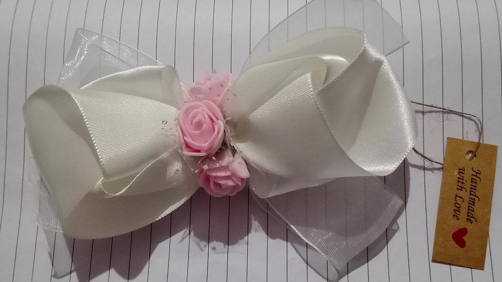 White Princess Ribbon Bow