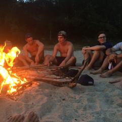 Social,  Natural Camping during survival