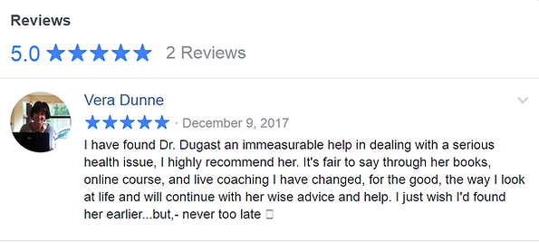 Connecting the DOTS to Vibrant Health | Mahayana I Dugast Ph.D.