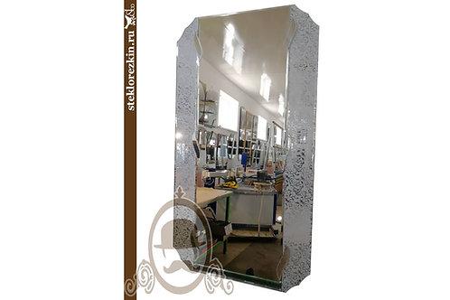 Зеркало №106 для коридора прямоугольное с зеркальным полотном Иви серебро | Купить | Изготовить | Стекло и Зеркала | Брянск