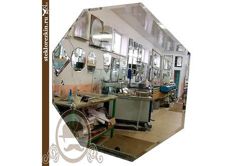 Зеркало №34 форма восьмиугольник восемь граней фацет | Купить | Заказать | Изготовить по размеру | Стекло и Зеркала | Брянск