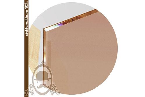 Зеркало матовое Сатин бронза сатинат бронзовое | Для мебели мебельщиков | Резка | Под размер | Стекло и Зеркала | Брянск