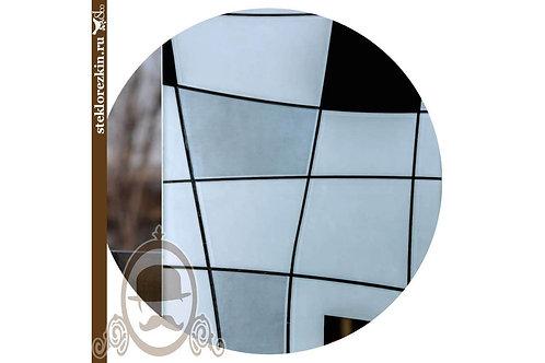 Зеркало узорчатое «Пространство» (Серебряное)