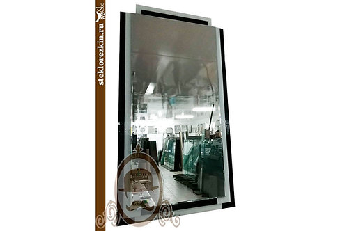 Зеркало №55 (Лакобель, 2 цвета Ч/Б)