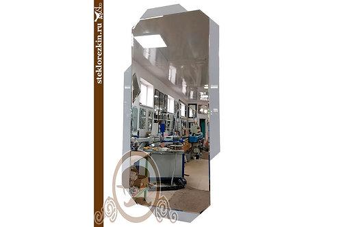 Зеркало №161.3 белое красивый дизайн в прихожую коридор фойе салон   Купить   Заказ   Стекло и Зеркала Стеклорезкин   Брянск