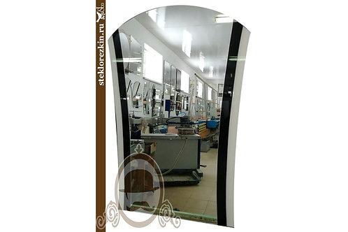Зеркало №40.2 «Пиковая дама 2» (Лакобель 2 цвета, Ц/Б)