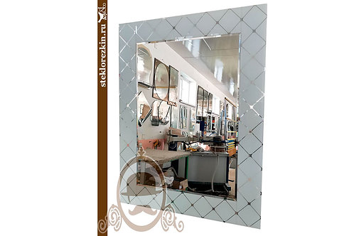 Зеркало №140 (Фуджи, белое)