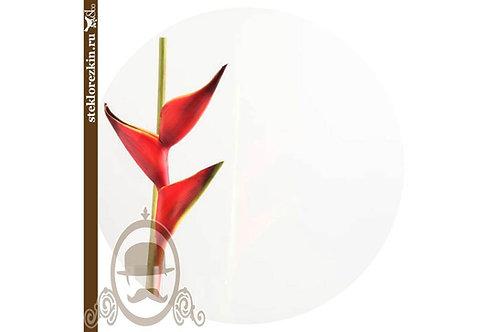 Стекло глянцевое непрозрачное Lacobel Лакобель белый цвет | Для мебели шкафы | Резка | По размеру | Стекло и Зеркала | Брянск