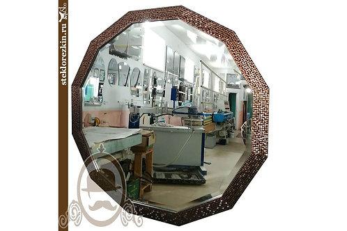 Зеркало №61.3 (багет бисер)