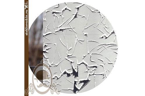 Зеркало узора «Колотый лёд» лед, серебрянное, серебро, серебристое | Резка размер двери фасада | Стекло и Зеркала | Брянск