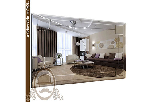 Зеркало №38 (классика, рамка из декора)