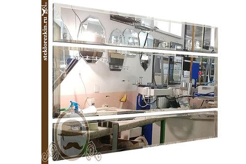 Зеркало №39 зеркальная композиция панно из трёх зеркал | Купить и на заказ | Каталог онлайн | Стекло и Зеркала | Брянск