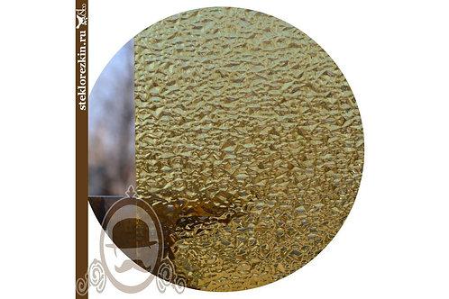 Стекло рельефное «Диаманд» (Золотое)