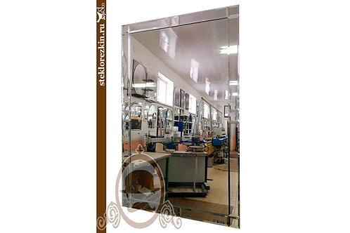 Зеркало №24 (классика, с зеркальной рамкой)