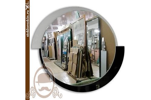 Зеркало №42 «Осирис» (Лакобель 2 цвета, Ц/Б)