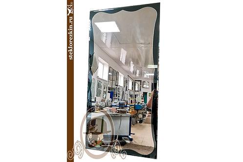 Зеркало №152.2 фигура закруглённые углы изгибы настенное посмотреть | Купить | Выбрать из наличия | Стекло и Зеркала | Брянск